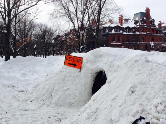 24 Pictures That Perfectly Capture How Insane The Snow In New England Is