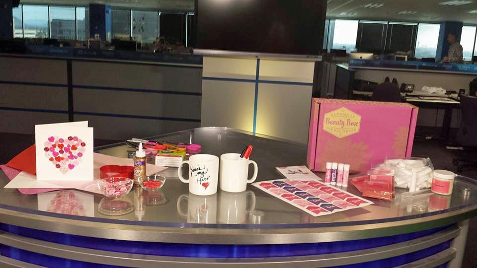 Tune in to @EVBLive with @emmajade12news today at 4 PM for easy + fun #DIY #ValentinesDay gift ideas! http://t.co/Lw9AZM0jsP