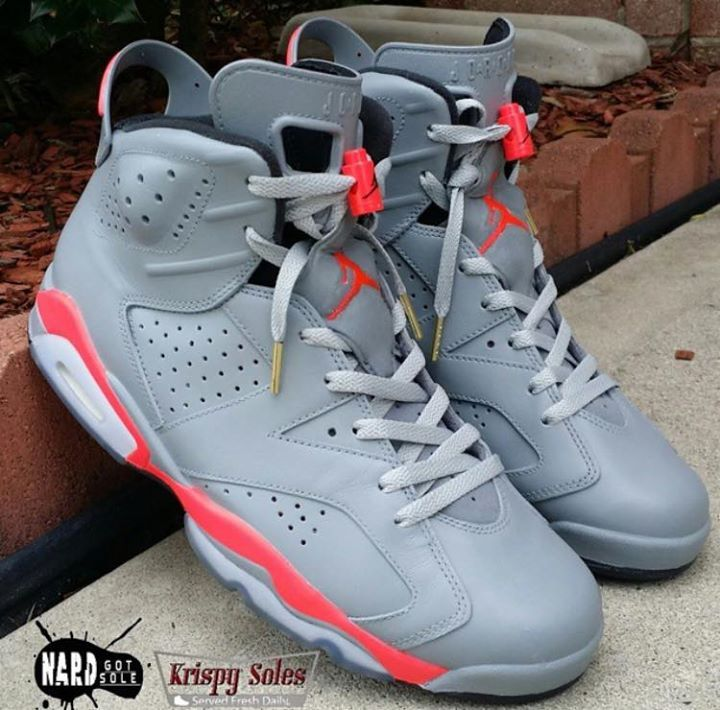 """""""@SneakHeat: thoughts on these Grey Infrared 6's?! http://t.co/2UvFVExKPD"""" Nice"""