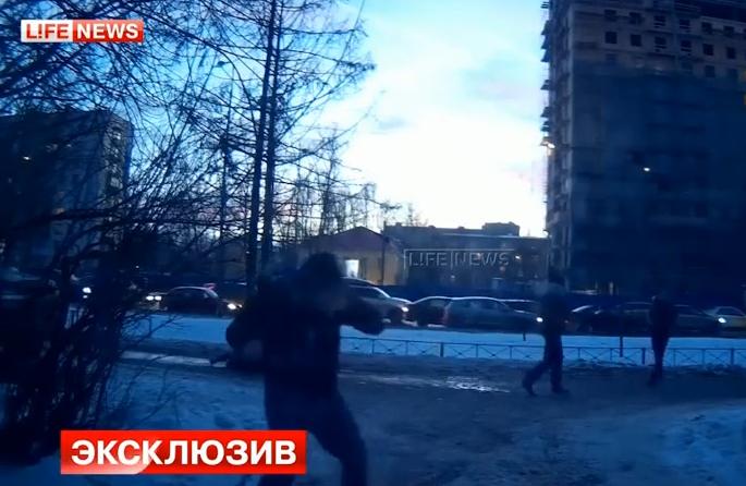 Избиение активистов «Стопхама» в Петербурге.