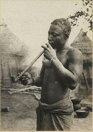 RT @SeeMeSeeNigeria: A Jukun man (in present day Nigeria) with a smoking pipe in Circa 1910s. Credit: The National Archives UK http://t.co/b7wTMnCFk1