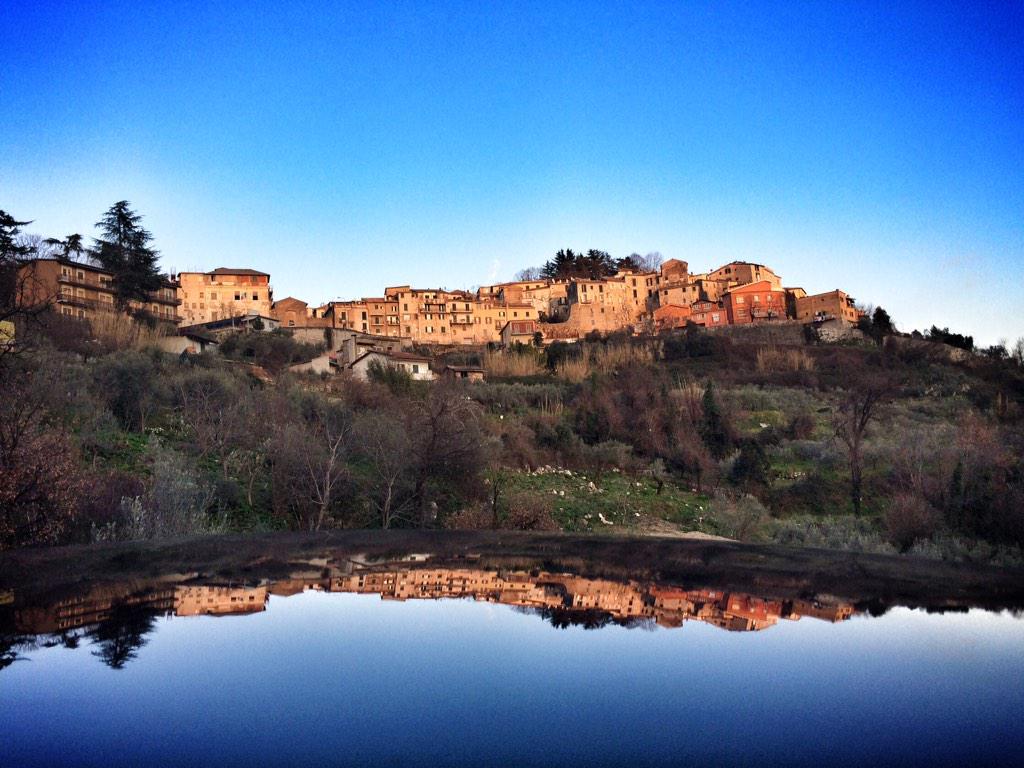 Reflections of Alatri. #Ciociaria #italy #travel http://t.co/mReHPMIj1D