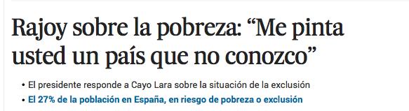 Y ese es precisamente el problema, Sr. Rajoy: http://t.co/K9g1yixu2e