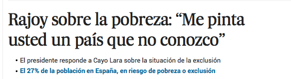 Xose Morais (@XoseMorais): Y ese es precisamente el problema, Sr. Rajoy: http://t.co/K9g1yixu2e