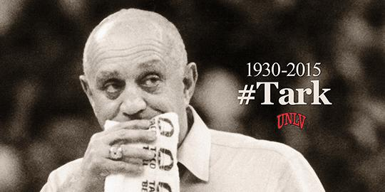 Sad to report that legendary Coach Jerry Tarkanian died this morning. Full story: http://t.co/OaiH911g1r #Tark http://t.co/jc0c5sM97M
