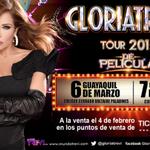 GloriaTrevi en Concierto #Ecuador , este 6 de Marzo #Guayaquil y 7 de marzo Quito, entradas YA a la VENTA! http://t.co/09xMEchP6a
