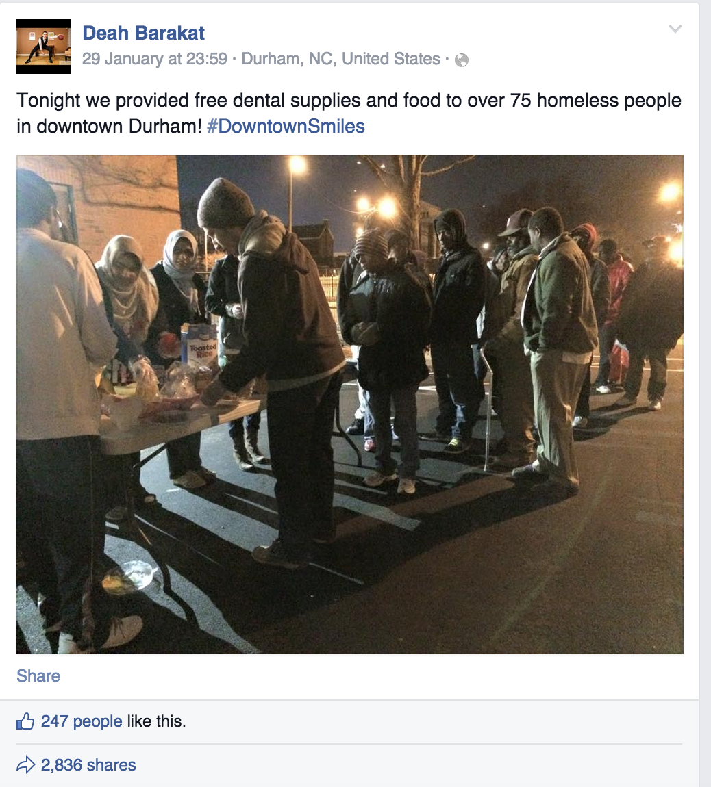 Beautiful & Sad. @OwenJones84: The last Facebook post of Deah Barakat, murdered in the #ChapelHillShooting http://t.co/xOM3iaVk5W