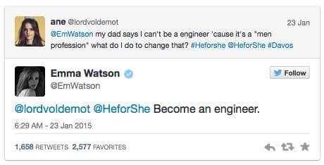 Emma Watson. http://t.co/5IP7xz15Hz