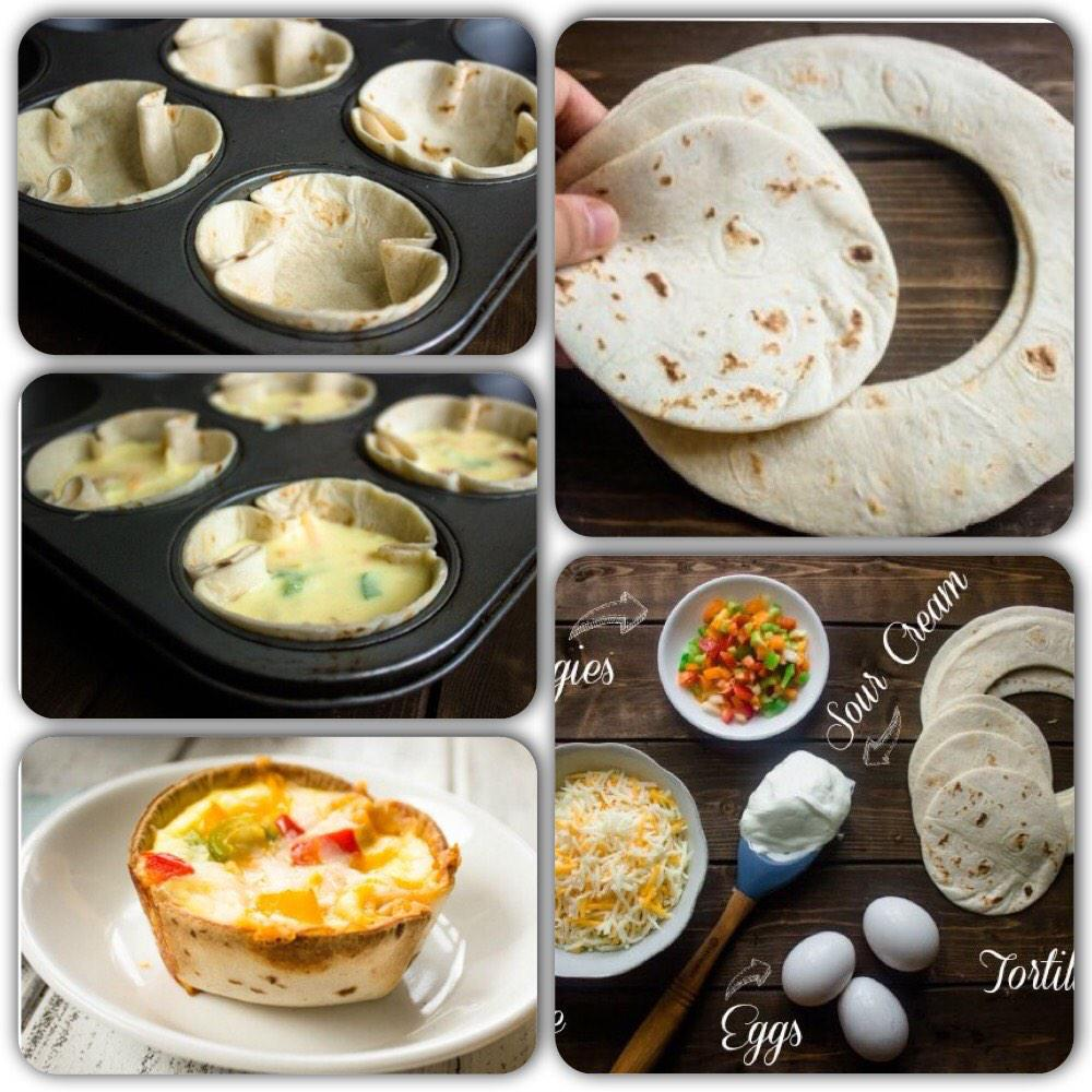 ايش فطوركم اليوم؟ فكرة اليوم من #مختارات_مطبخ_قودي  لعمل مافن البيض مع خبز التورتيلا وجبنة الشيدر. http://t.co/oZozput4eI