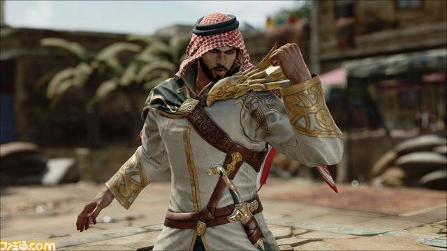 اول صور الشخصية السعودية في تكن 7 : شاهين  عجبني الموديل  #Tekken7 http://t.co/3J2Zj1pOFU