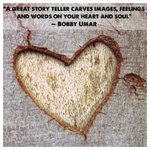 """""""A Great Storyteller Carves Images, Feelings and Words on your Heart and Soul."""" https://t.co/YVoLAaB2sY #Quotes"""