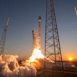 RT @SpaceX: Sunset launch ✓ #DSCOVR on way to L1 in good health ✓ First deep-space mission for #Falcon9 ✓ http://t.co/REhNnuA0WB http://t.c…