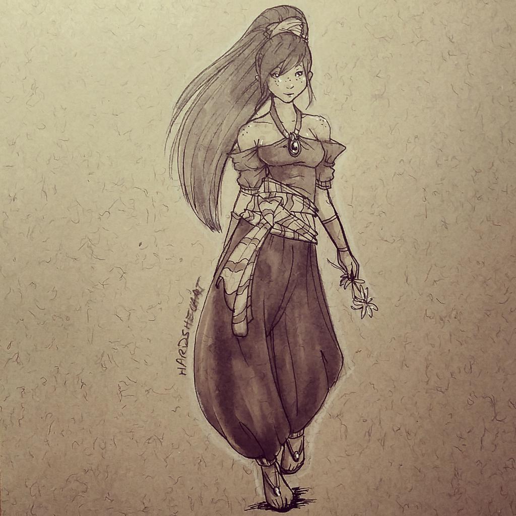 Swishy pants, swishy paaaants. #dailysketch #sketch #illustration #drawing #doodle #dailydoodle #art http://t.co/PGUPkxIEyv