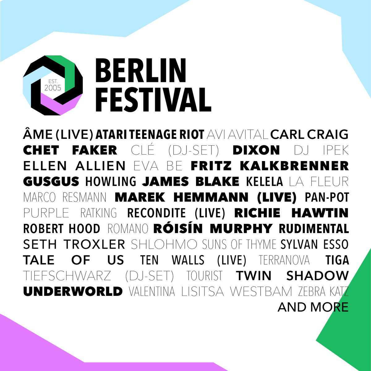 It's on!!! http://t.co/acMfStvjqC #berlinfestival http://t.co/561wqDDXIC