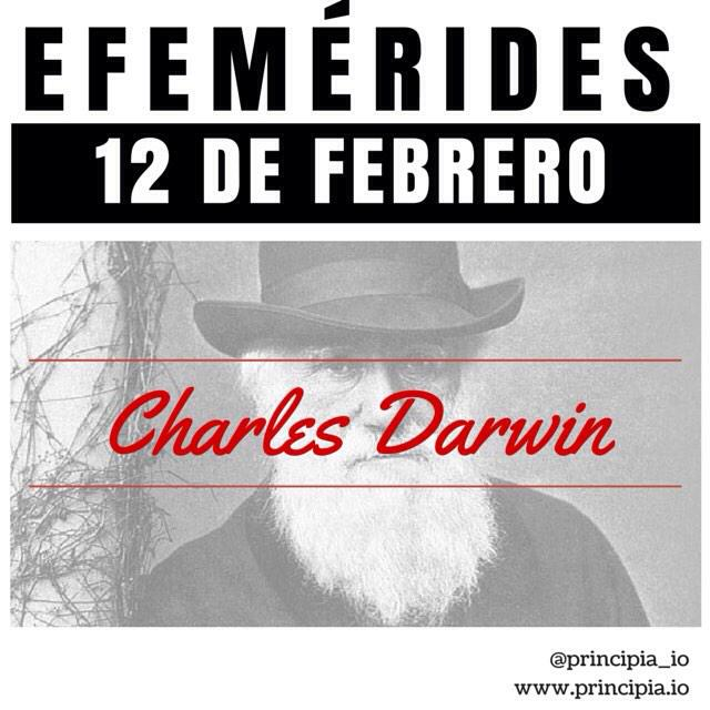 ¡Feliz Día de Darwin! http://t.co/a2lbJEEOAf #DarwinDay #DarwinDay2015 #Darwin http://t.co/qFR85fs8JH