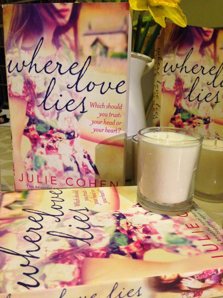 To #win a signed copy of WHERE LOVE LIES and a bespoke scented candle tweet your favourite scent & tag #WhereLoveLies http://t.co/4n1ezDZoP6
