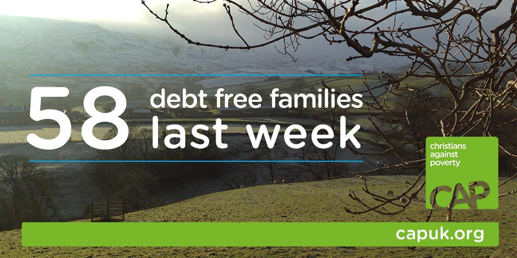 What a privilege to announce that 58 families went debt free last week! Go on, give them a retweet! #debtfreeheroes http://t.co/xzVsMpNdJ0
