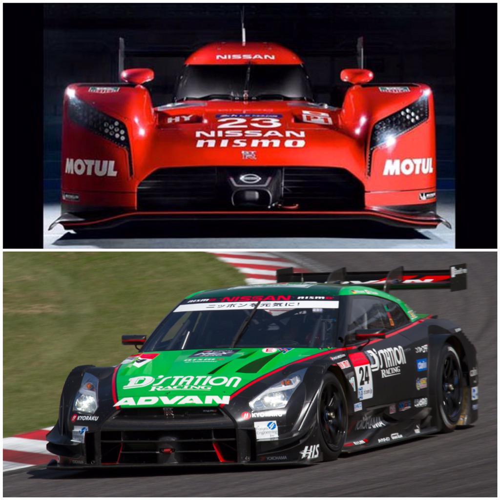 Muy ilusionado con los planes para '15. Ya es official! LMP1 en LM24 con Nissan GT-R LM!! También Super GT 500