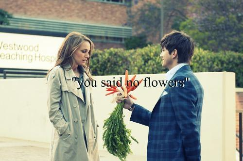 Bringing her flowers anyway... #WhatIsLoveIn4Words http://t.co/8xpnmze3nD