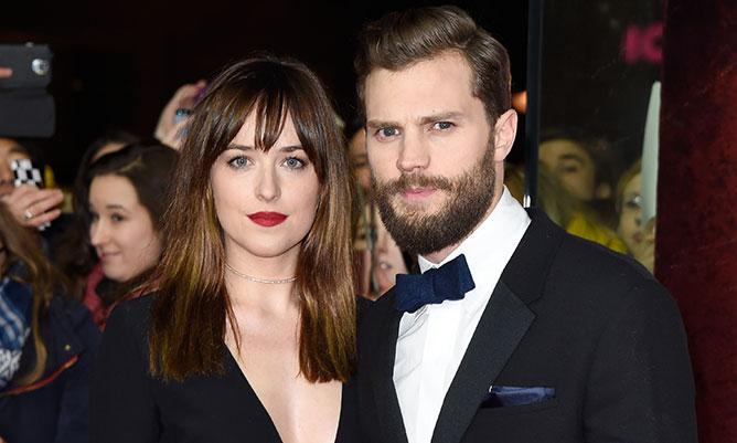 Sexy Dakota Johnson and Jamie Dornan heat up Berlin at FiftyShadesOfGrey world premiere