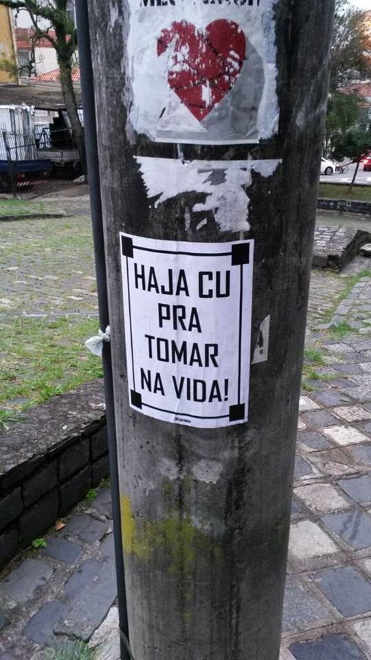 Curitiba - PR. Foto enviada por Camila Bevilaqua #olheosmuros http://t.co/pX0mExRaXI