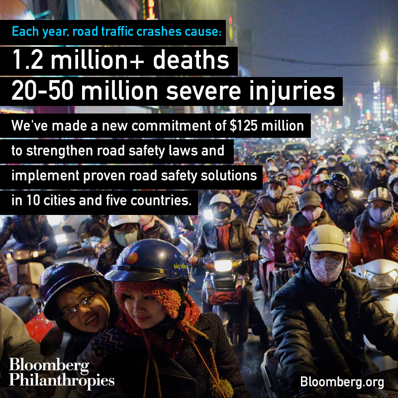 RT @BloombergDotOrg: By strengthening #RoadSafety laws and implementing proven road safety interventions we can save millions of lives http://t.co/aY159OtRSk
