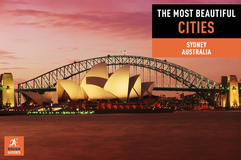At number 13 you voted Sydney, Australia as one of the most beautiful cities in the world: