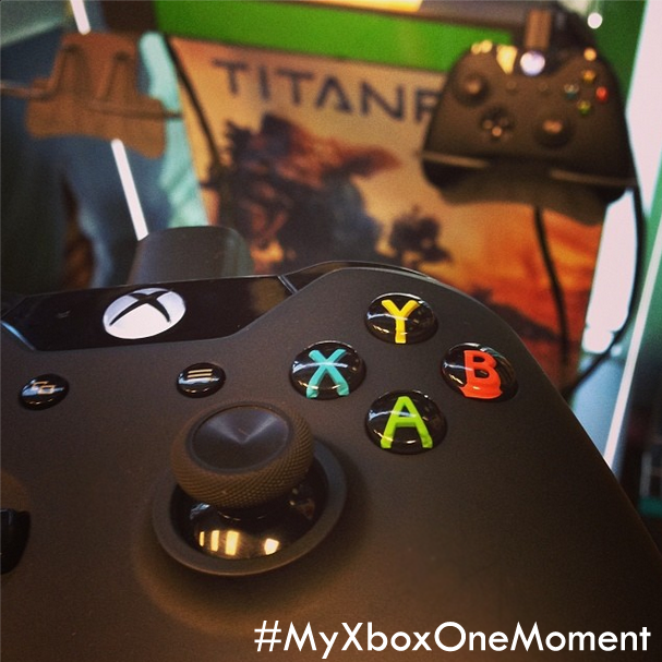 GameStop (@GameStop): Share your #XboxOne moment for a chance to win an Xbox One prize pack & more! http://t.co/odrYhrVvz9 #MyXboxOneMoment http://t.co/hwNaVuTTIg