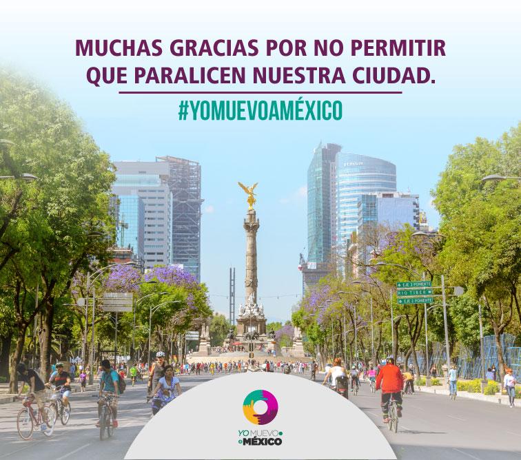 En vedad, muchas gracias por no permitir que paralicen nuestra ciudad #YoMuevoaMéxico http://t.co/8JVAqU1pPu