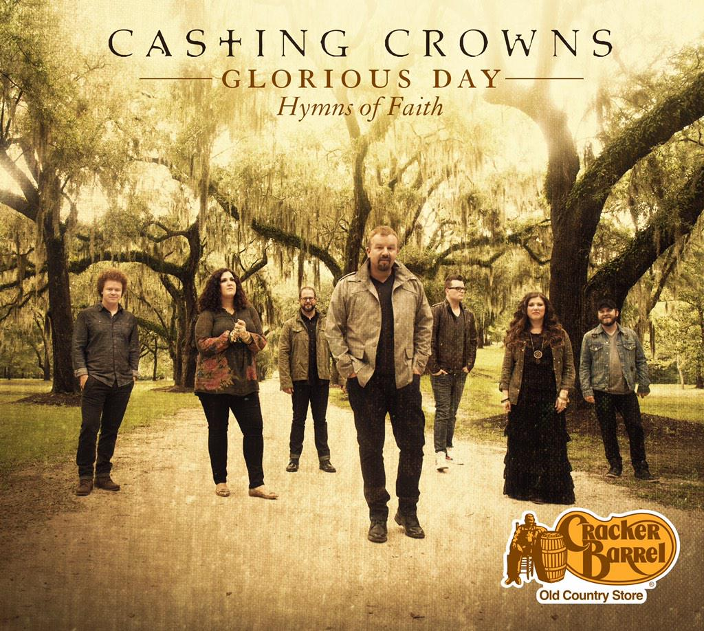 What goes better with pancakes and bacon? Casting Crowns that's what!!!  Available only at Cracker Barrel, March 2nd. http://t.co/QoOFcALuSY