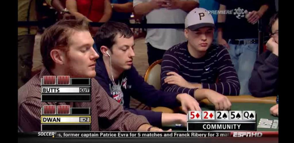 The first time I was ever on ESPN, next to my hero @TomDwan.  I was not in the hand but man was that cool. #TBT http://t.co/0WOGZqw09b