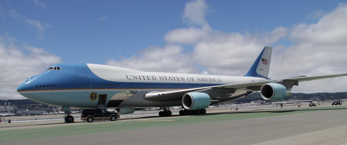 Check out how SFO prepares for POTUS!