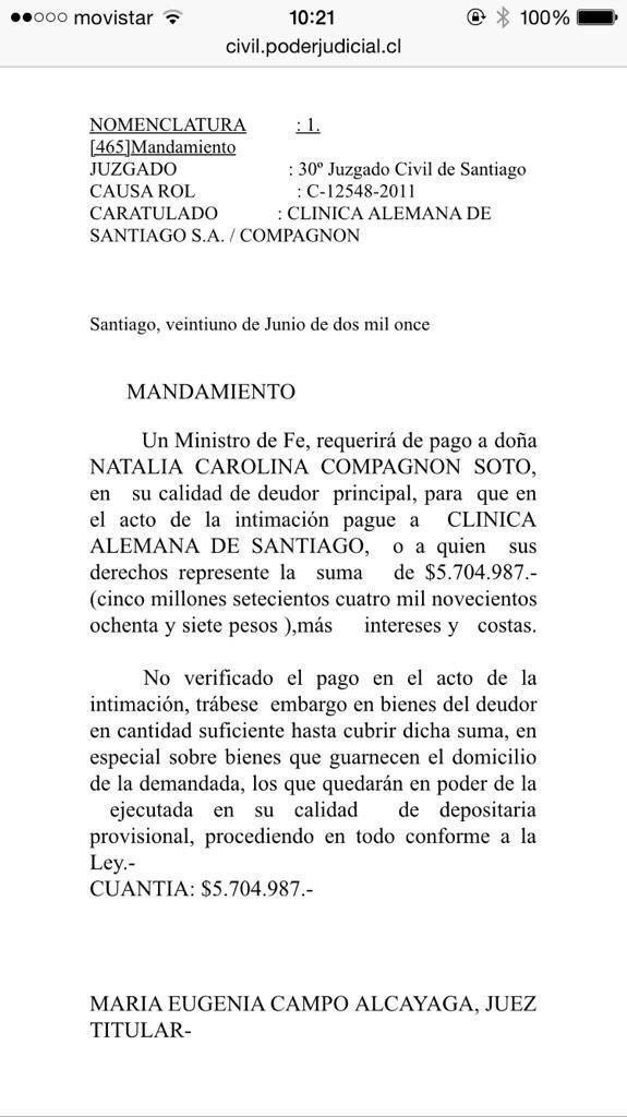 Luis Undurraga (@luchoundurraga): La señora de #Dávalos http://t.co/zu8YK8lBy3