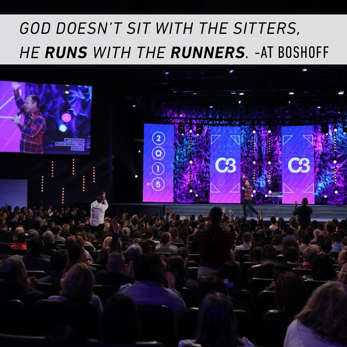 Who's in the race with you? // Great message from @AtBoshoff http://t.co/lC4VpAkLNt