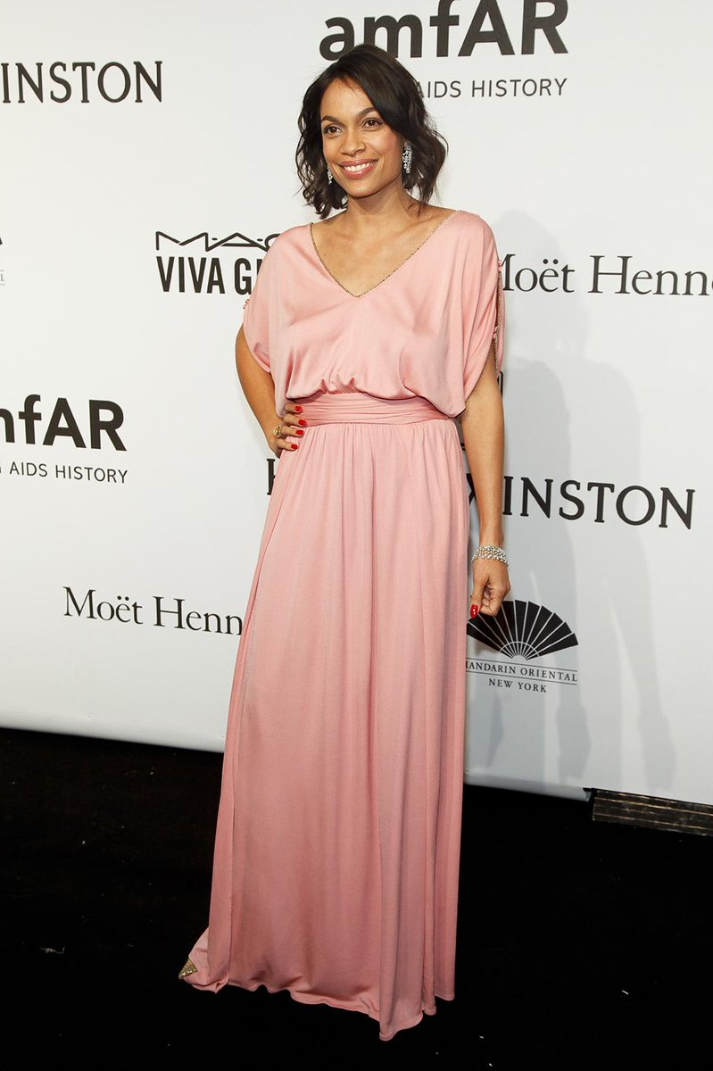 Rosario Dawson Calls for Ebola Action During amfAR New York Gala Speech