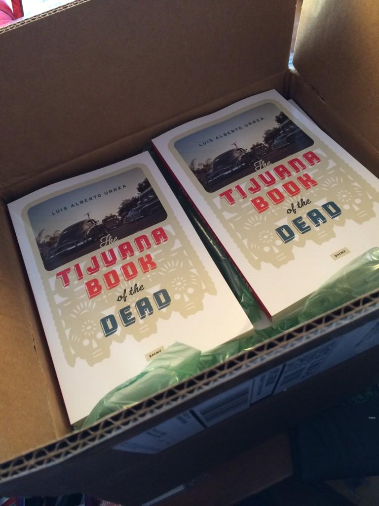 They're HERE! Heading for a bookstore near you! @Chicano_Soul @SJRivera http://t.co/BczGznNHDk