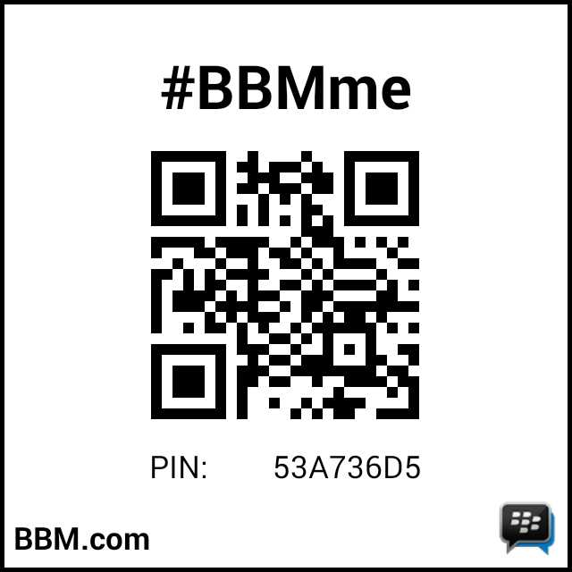 رمز PIN لـ#BBMme: 53A736D5 http://t.co/8I7oNRcrfN http://t.co/EqjY0eytrY