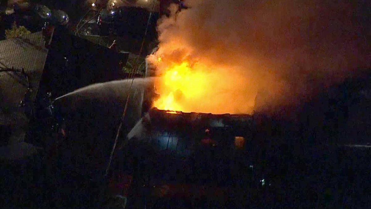 3 Alarm Fire Heavily Damages Bellevue Car Dealership