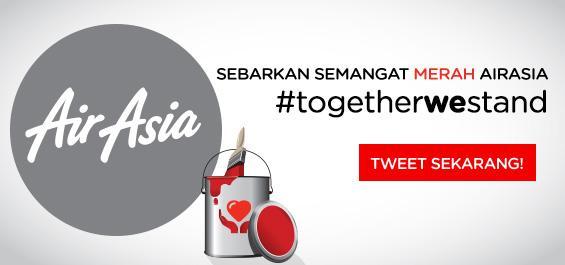 Setiap dukungan anda melalui hashtag togetherwestand mampu mengembalikan semangat merah kami.
