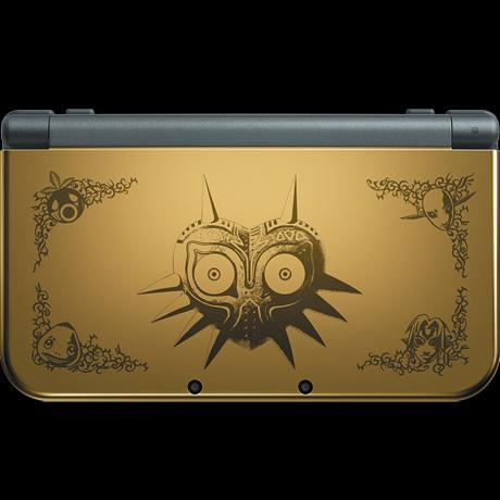 Follow & RT for a chance to win a New 3DS XL Majora's Mask 3D Edition  #Nintendo3DSDay UK Only, closes 9am Feb 14 http://t.co/au0A6Ad6SD