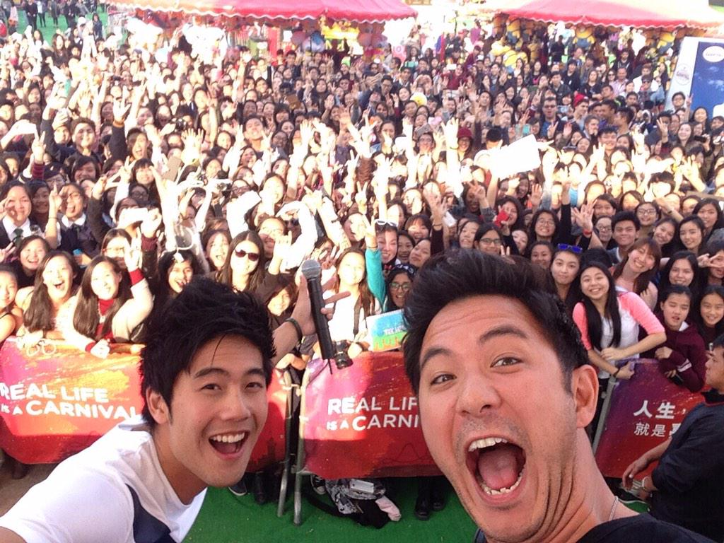 Spotted at the AIA Great European Carnival in Hong Kong @Dom_Lau & @TheRealRyanHiga RT if you're in this pic! http://t.co/6FN4HilC8V