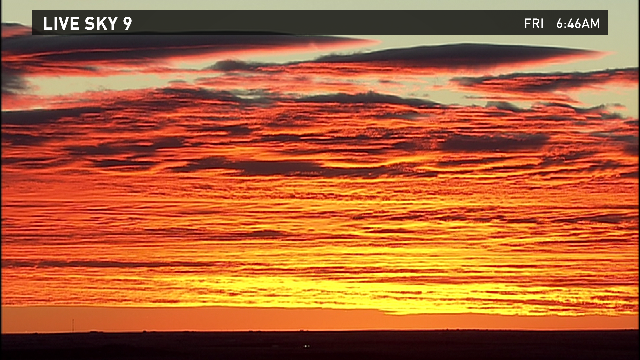 Yes, another beauty this morning! Love these #Colorado #sunrises #9wx http://t.co/Nyrv0LWRN8