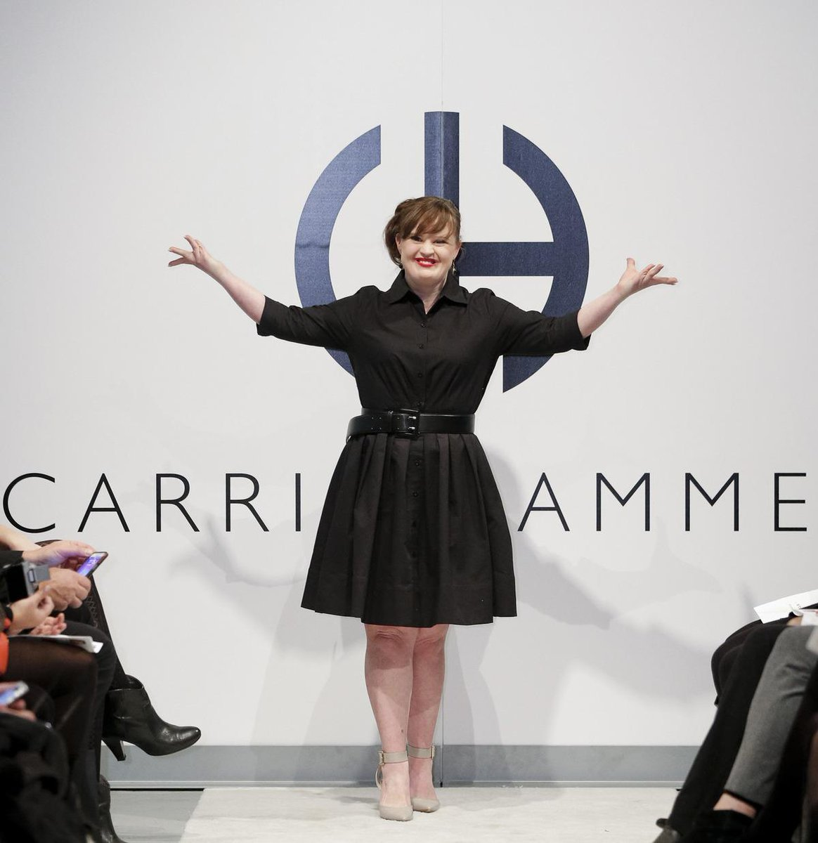 Meet the model with #Downsyndrome who just made fashion history at NYFW http://t.co/C0CySfvHyn http://t.co/g0lEnOCBvr