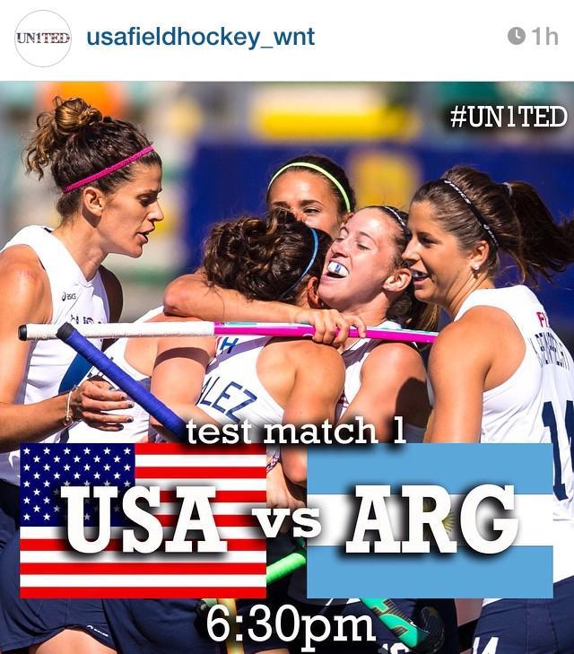 Hoy a las 20.30, primer test: las Leonas vs. EE.UU. En vivo por ESPN desde las 20.30. Estás avisada, piba. http://t.co/iEzhrMAN89
