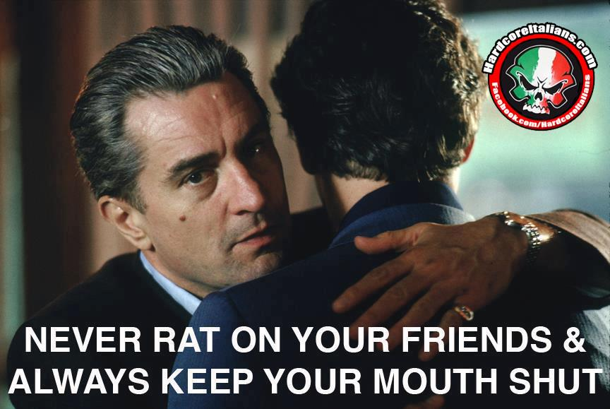 GREAT ADVICE! This 1s 4 @GiovanniPaoloNY See u next year Pal STAY STRONG! #Italian #GoodFellas #NeverRat #StandUpGuy http://t.co/QVSXG1tJSi