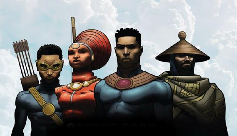 FEATURE: South African Superheroes - 'Kwezi', the new comic book from artist @loyiso_mkize —> http://t.co/RGNxW95gQs http://t.co/XAmWJCpzQU