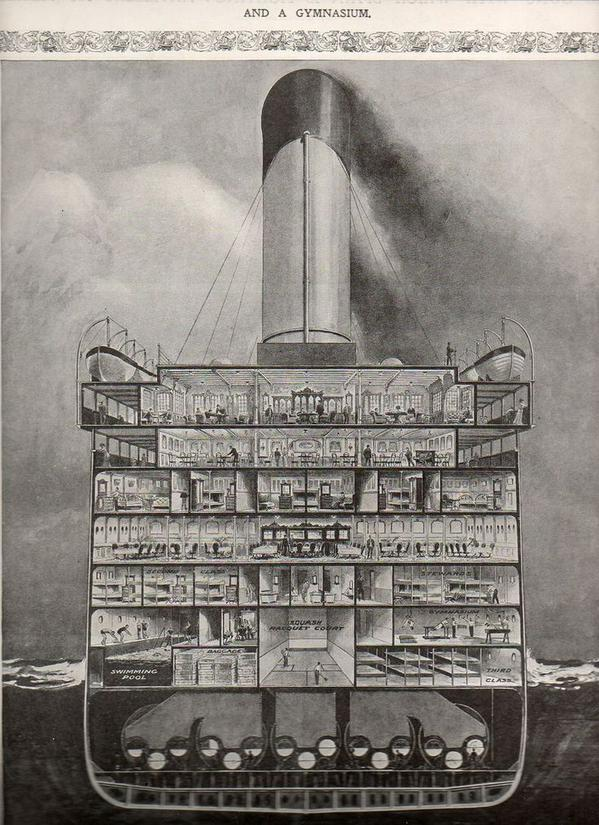 Cross-section Titanic http://t.co/4ImicQGq4A RT @HistoryInPics