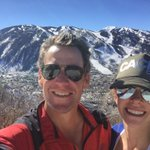 Beautiful hike up Smuggler Mtn with @annahansen here in @AspenCO today. Hard to believe it's this warm in February! http://t.co/bWirlbwhWT