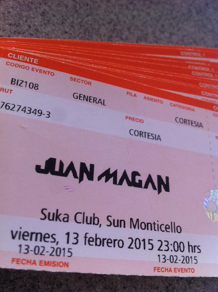 SUKA Club (@SukaMonticello): Esta noche recibimos al español @JuanMagan en una fiesta imperdible!!!  No te quedes fuera de @SukaMonticello http://t.co/rNYWGzslV0