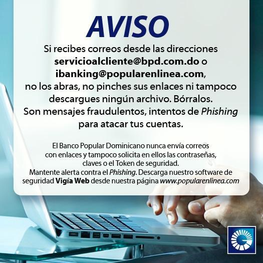 #Aviso: Estas dos cuentas de correos fraudulentas intentan hacerte víctima de #Phishing. http://t.co/AOsU6573Av